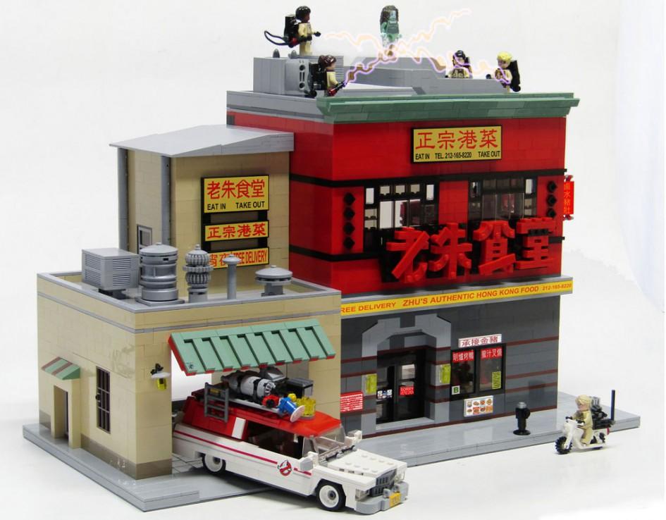 Lego Dimensions Ghostbusters  Car Build