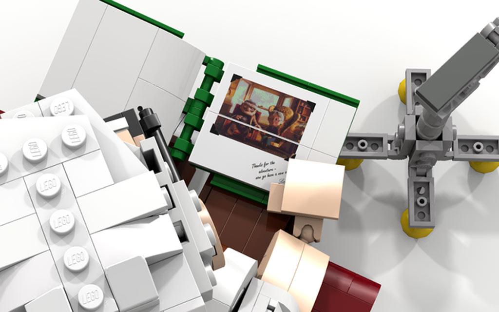 Reminiszenz an den Film   © aleehc / LEGO Ideas