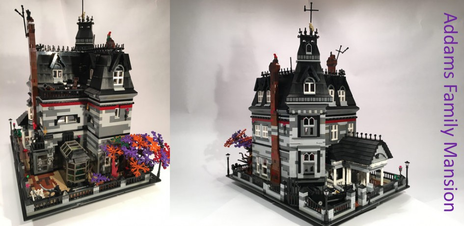 Addams Family Mansion | © Afol777 / Lego Ideas