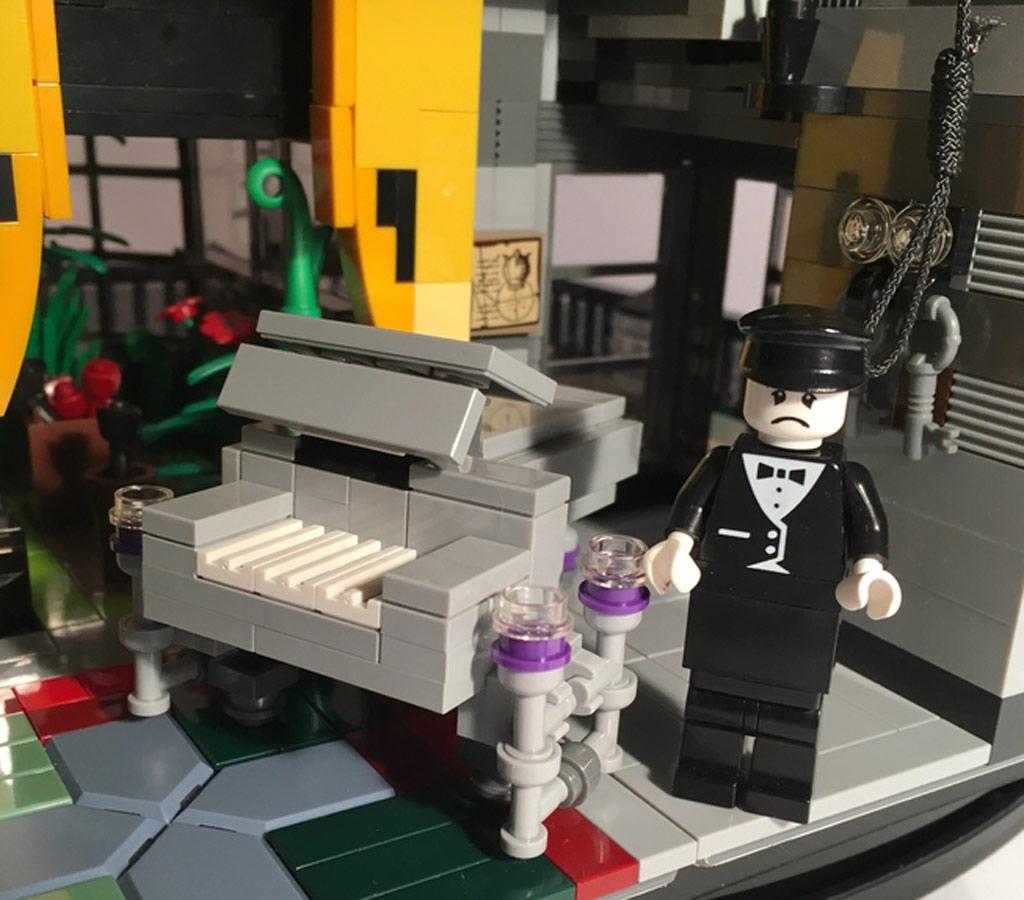 Riesig! Detaillierte Inneneinrichtung | © Afol777 / Lego Ideas