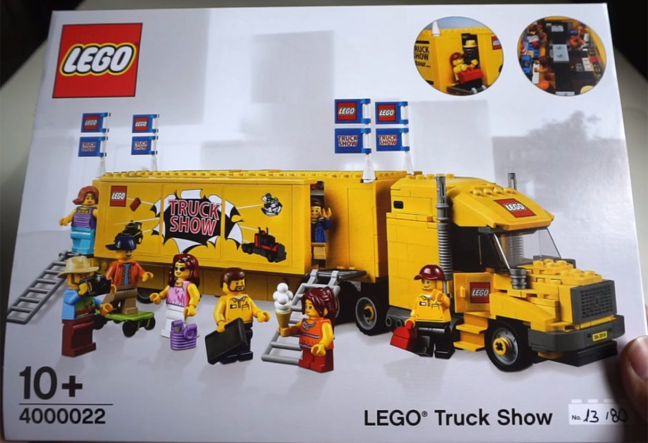 LEGO Truck Show (4000022) | © Lego with Daniel and Oriel / YouTube Screenshot