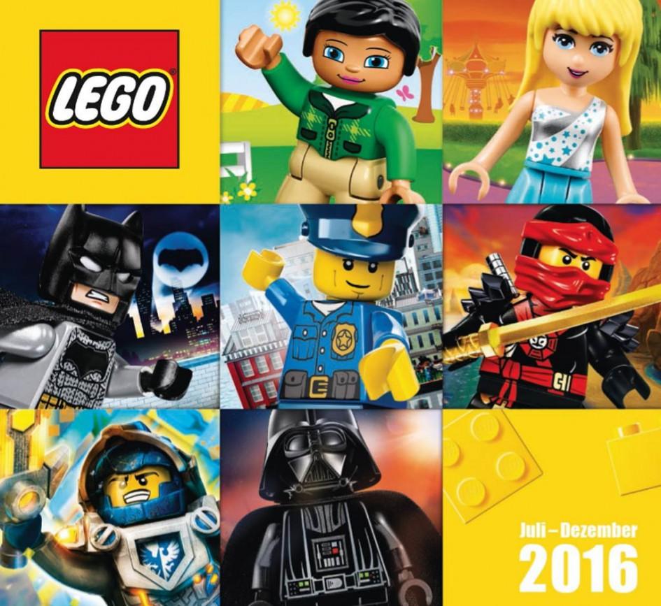LEGO Katalog Juli bis Dezember 2016 | © LEGO Group