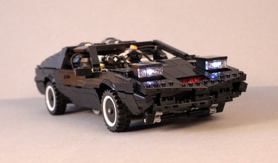 lego moc knight rider k i t t mit power functions. Black Bedroom Furniture Sets. Home Design Ideas