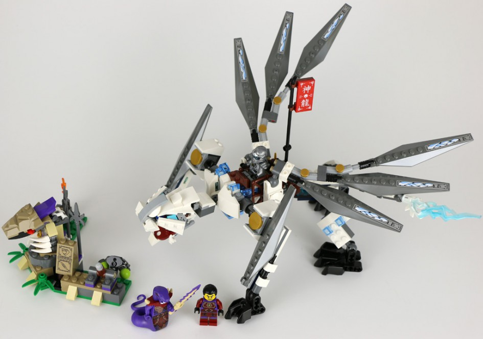 LEGO Ninjago Titandrache (70748) | © zusammengebaut.com
