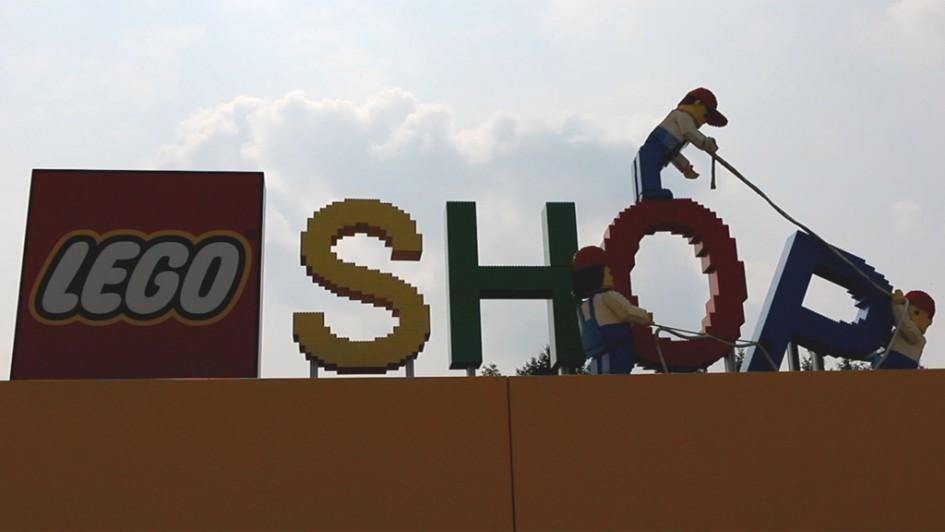 Lego Shop im Legoland Billund | © Andres Lehmann / zusammengebaut.com