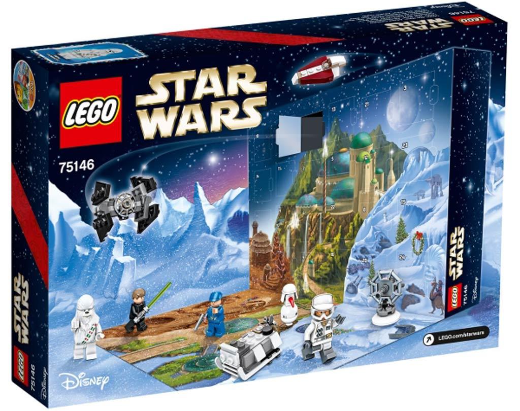 Von Tag zu Tag wird sich das weihnachtliche LEGO Star Wars Szenario mehr abzeichnen... im Dezember, wohlgemerkt. | © LEGO Group