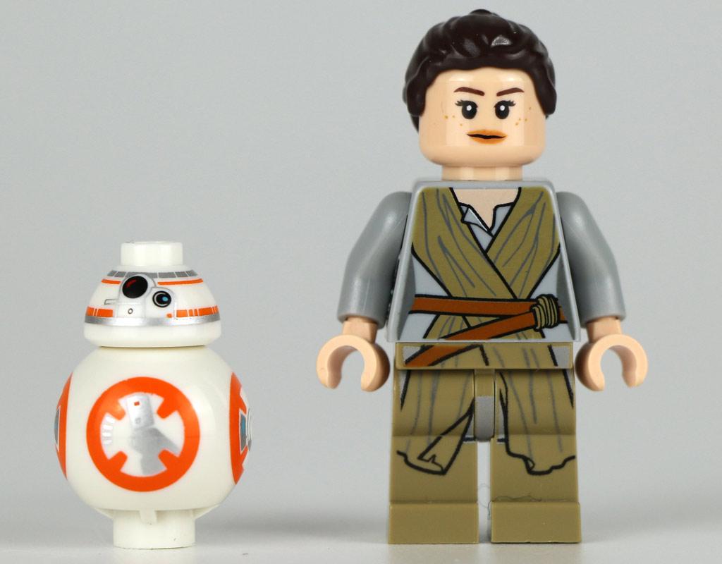 BB-8 und Rey | © Andres Lehmann / zusammengebaut.com