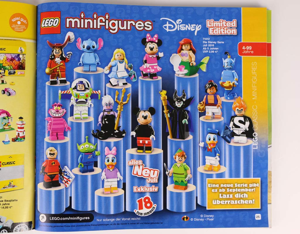 Disney Minifiguren | © zusammengebaut.com
