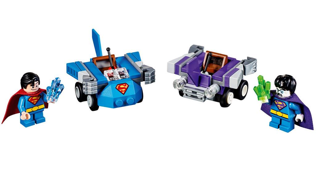 Superman vs. Bizarro und Co.: Die LEGO Spuer Heroes Mighty Micros kommen auch in 2017 angedüst!   © LEGO Group