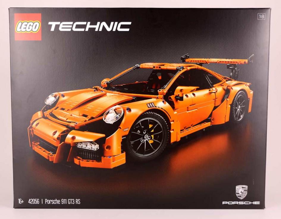 lego technic porsche 911 gt3 rs 42056 lego berarbeitet die verpackung zusammengebaut. Black Bedroom Furniture Sets. Home Design Ideas