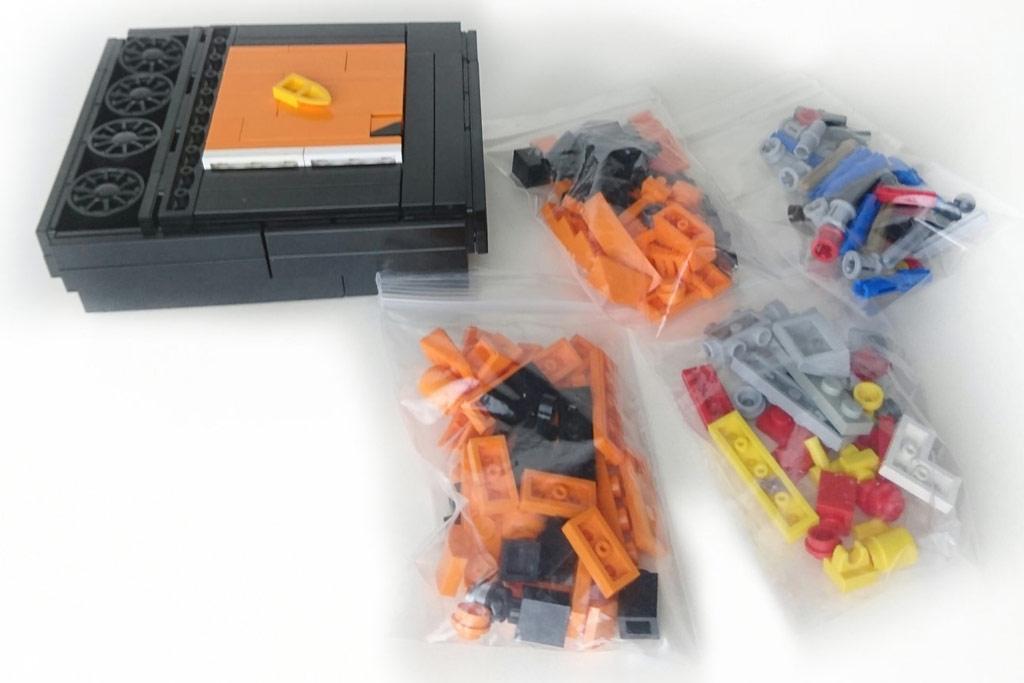 Verpackung des kleinen LEGO Porsche | © Gerald Cacas