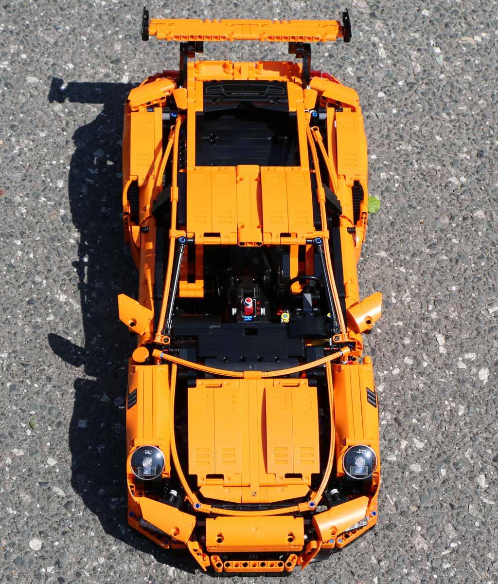 Der Porsche in voller Pracht. | © Andres Lehmann / zusammengebaut.com