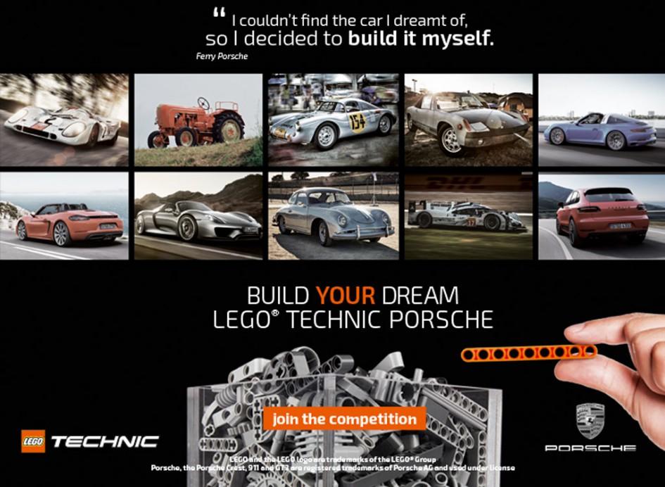 Traum ausleben, Porsche bauen! | © LEGO Group
