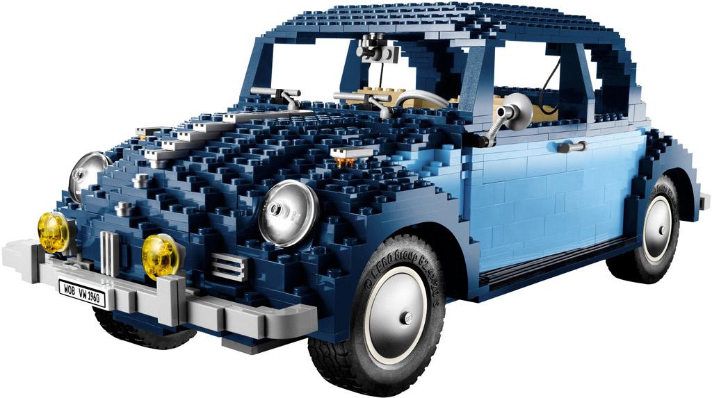 LEGO Volkswagen Beetle (10187) aus dem Jahre 2008 | © LEGO Group