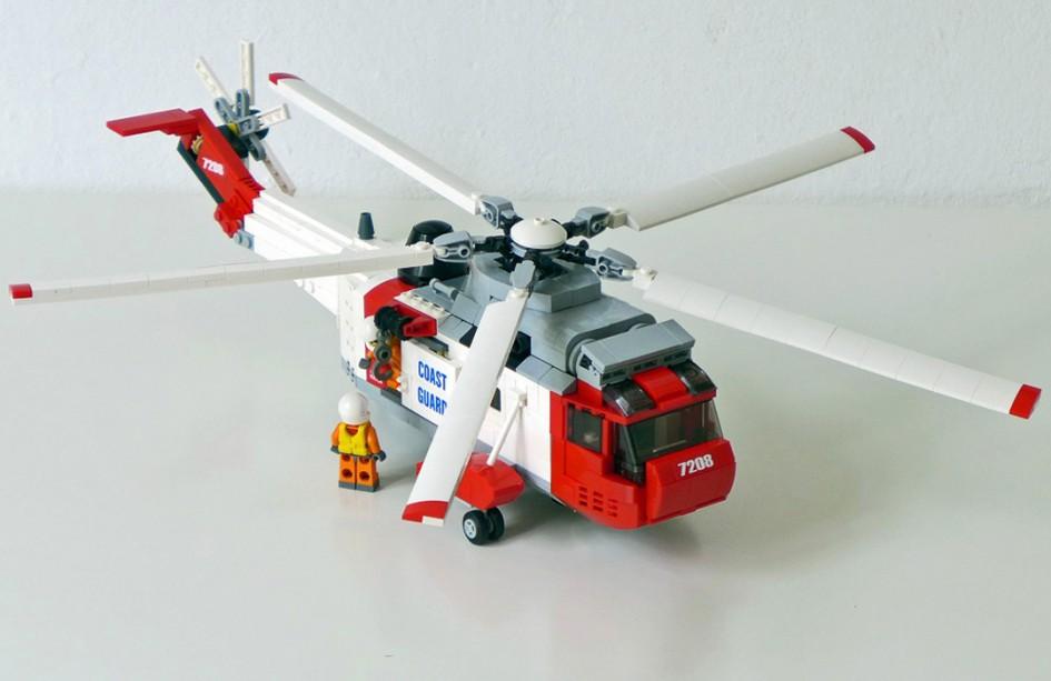 LEGO Sikorsky/Westland Sea King Coast Guard Helikopter | © Marcus Paul