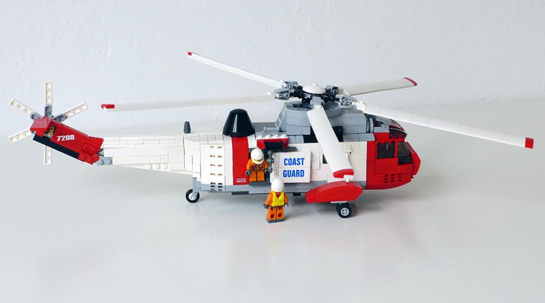 Sea King Hubschrauber im Miniaturen-Maßstab | © Marcus Paul