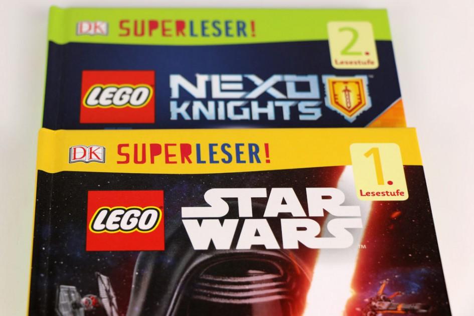 Die Superleser: LEGO Nexo Knights und Star Wars | © zusammengebaut.com