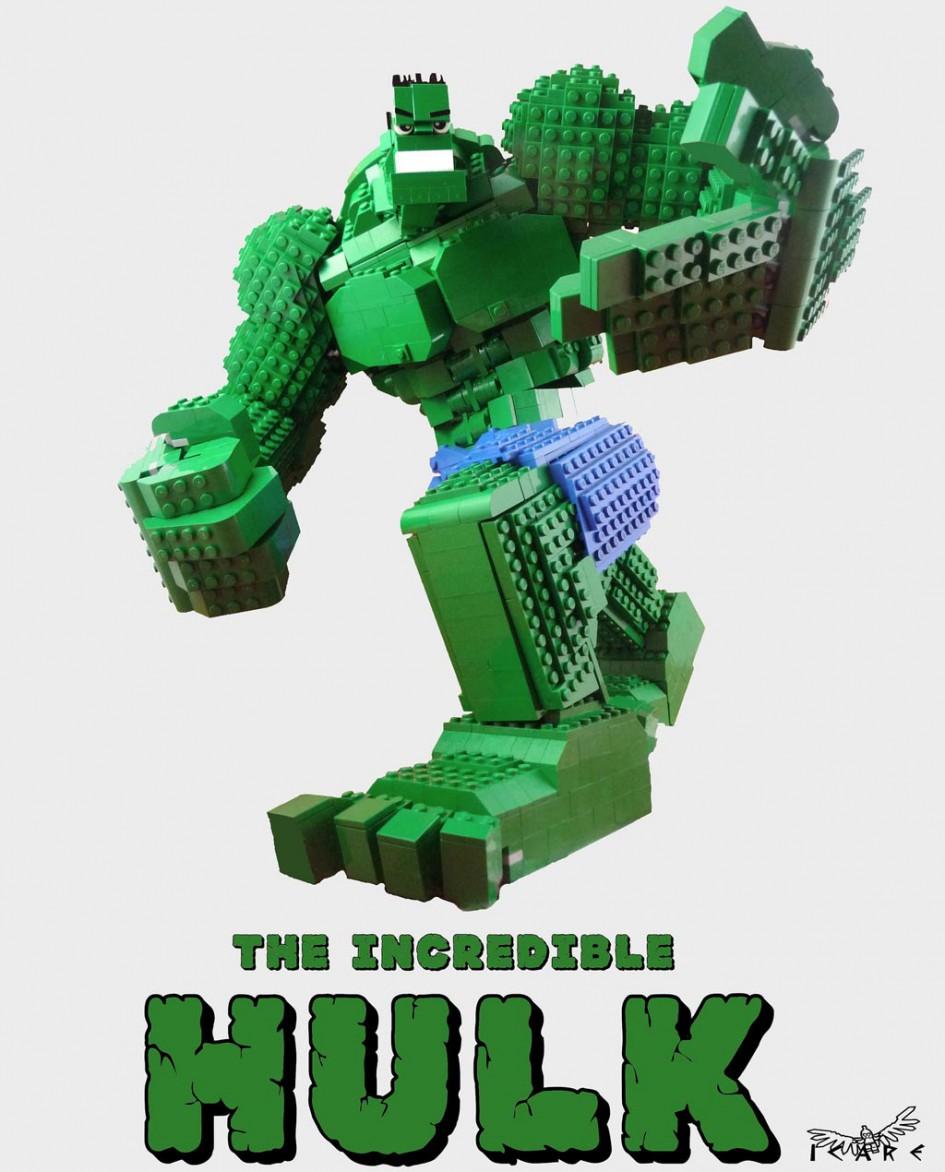 Der unglaubliche LEGO Hulk!   © Nicolas Picot / Flickr