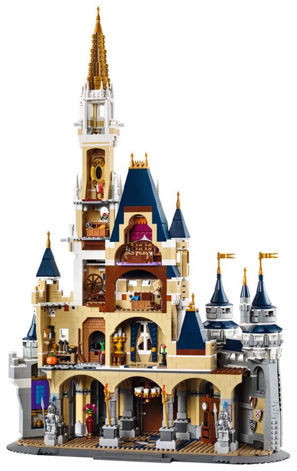 Die gut bespielbare Rückseite | © LEGO Group