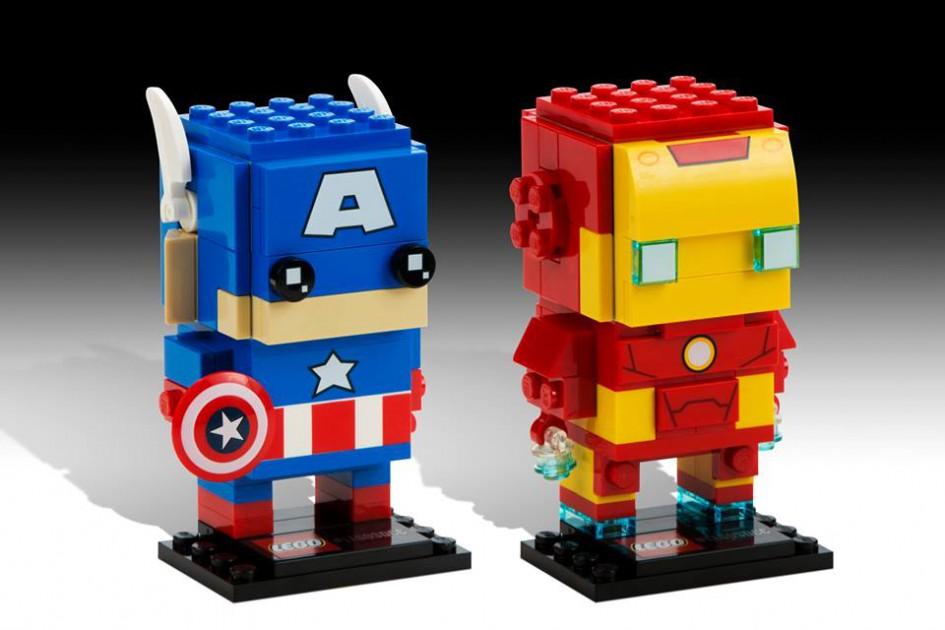 Captain America und Iron Man   © LEGO Group