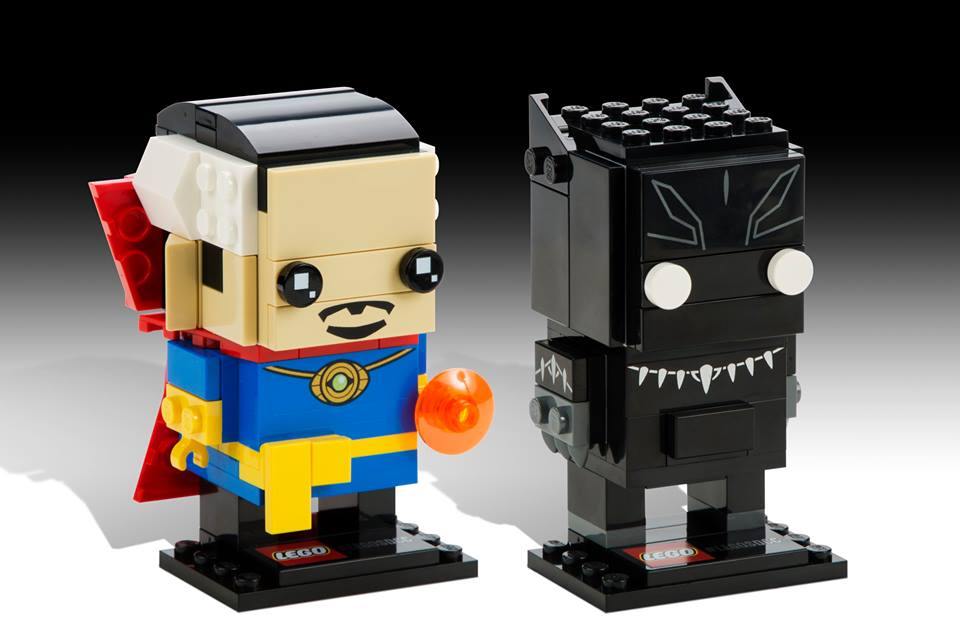 Doctor Strange und Black Panther: Die Figuren sind ab 2017 für alle Erdenbürger erhältlich.   © LEGO Group