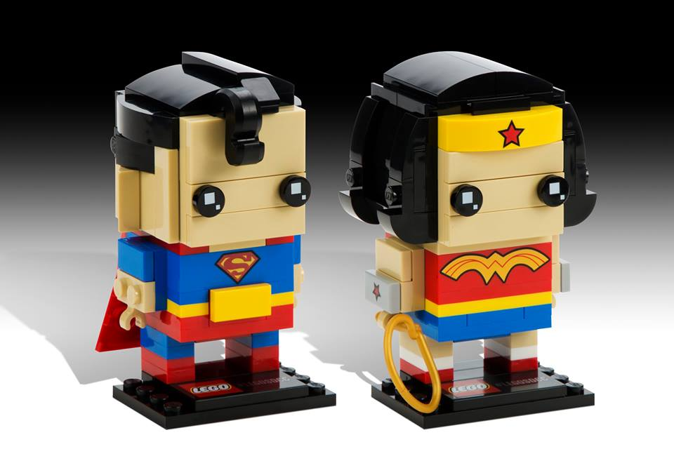 Superman und Wonder Woman | © LEGO Group