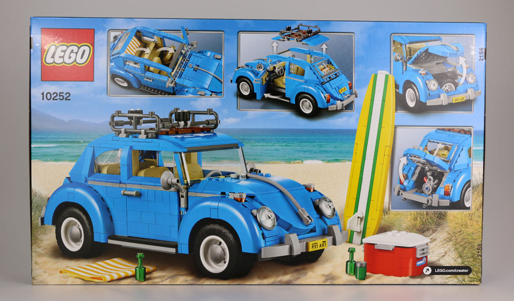 lego creator volkswagen beetle 10252 unboxing der vw. Black Bedroom Furniture Sets. Home Design Ideas