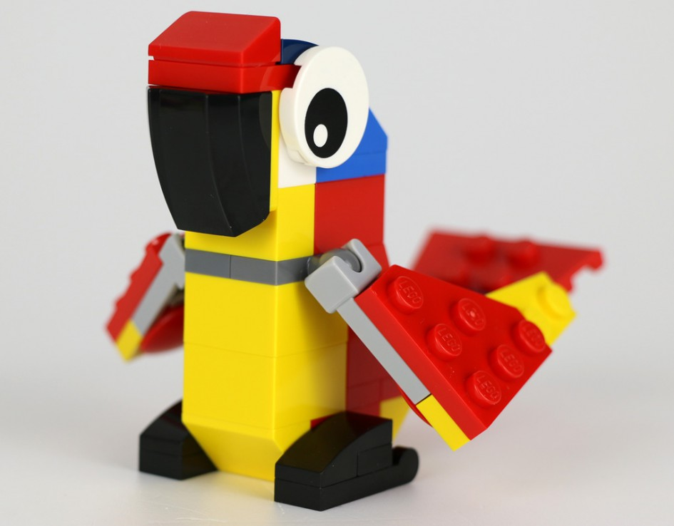 Papagei! | © Andres Lehmann / zusammengebaut.com