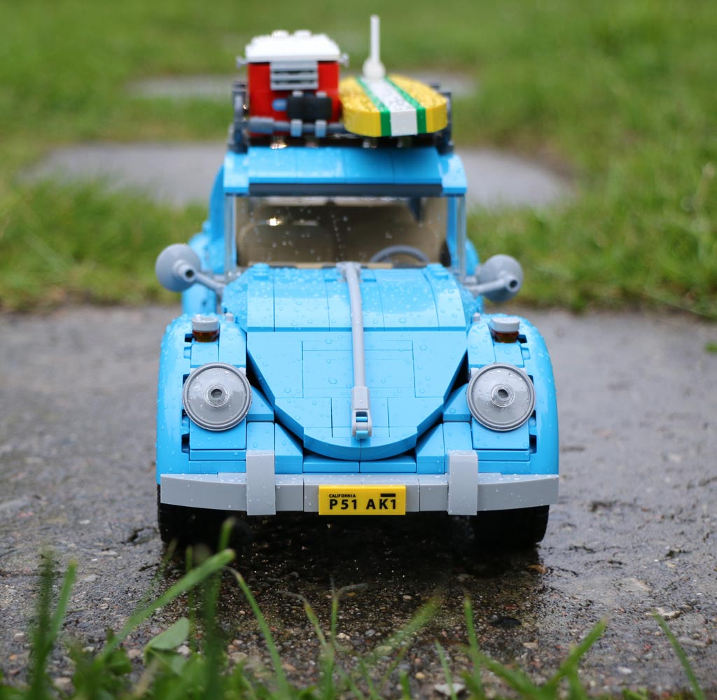 lego creator volkswagen beetle 10252 der sonne entgegen. Black Bedroom Furniture Sets. Home Design Ideas