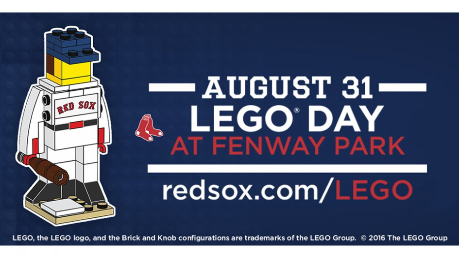 LEGO Tag! | © Boston Red Sox