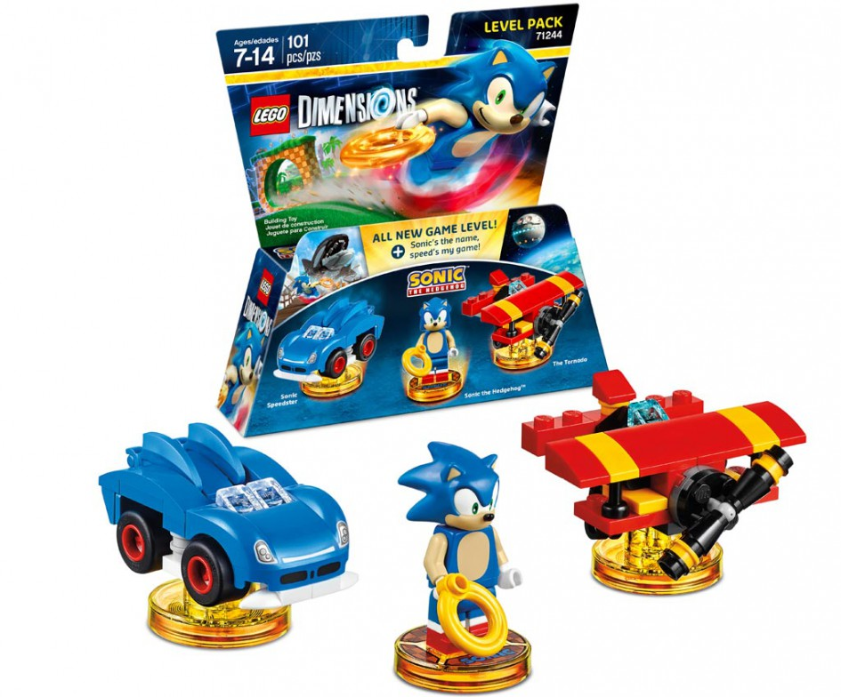 Sonic The Hedgehog Level Pack (71244) | © Warner Bros. Interactive Entertainment / TT Games