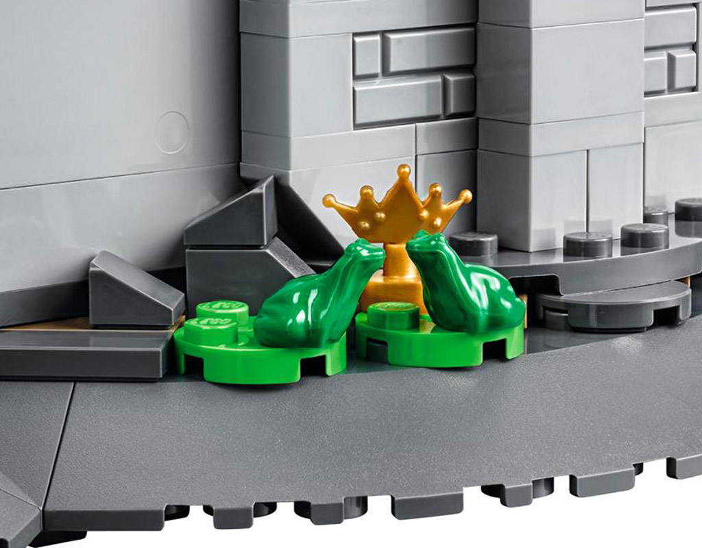 Wer hat einen Frosch im Hals?   © LEGO Group