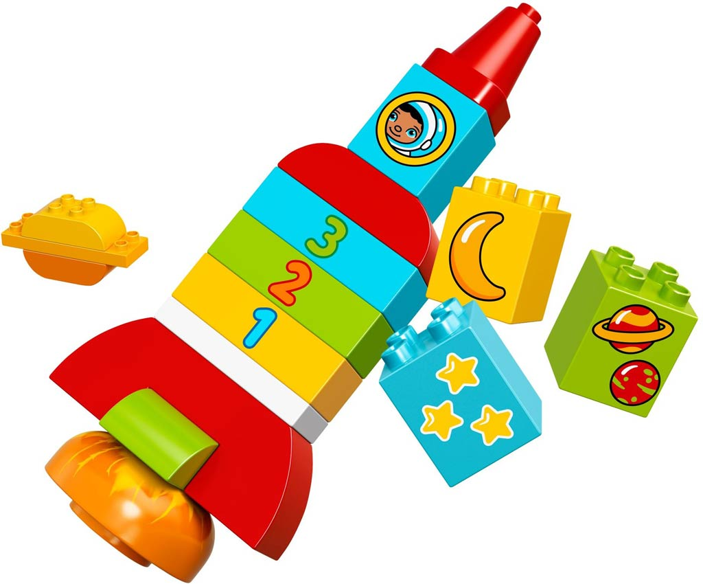 LEGO Duplo My First Rocket (10815): Raketenmäßig! | © LEGO Group