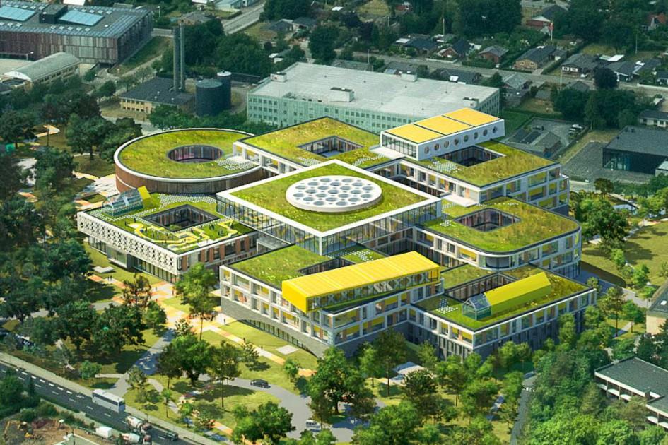 Ein neues Bürogebäude in Billund | © LEGO Group