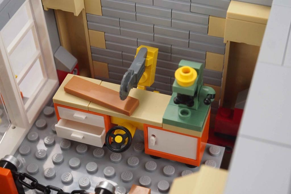 Werkbank | © ryantaggart / LEGO Ideas