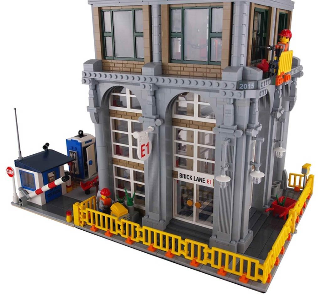 Fassade | © ryantaggart / LEGO Ideas