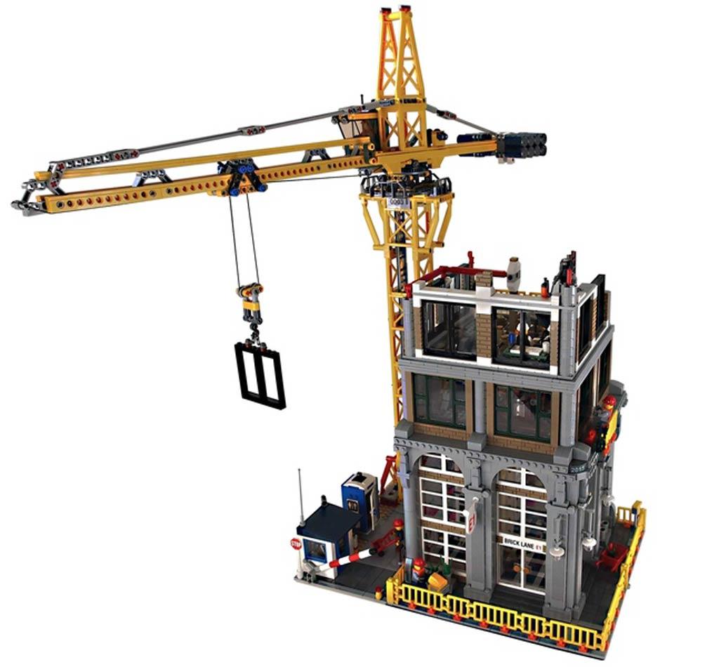 Modular Constructio Site | © ryantaggart / LEGO Ideas