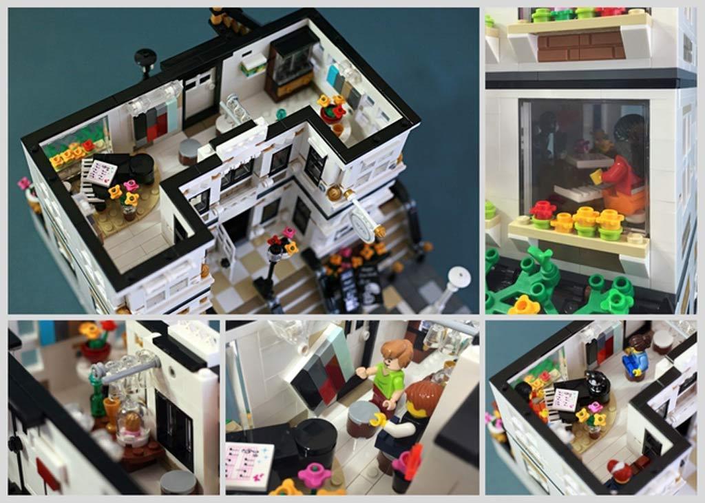 Teile des Innenlebens | © LEGO Ideas / ck80