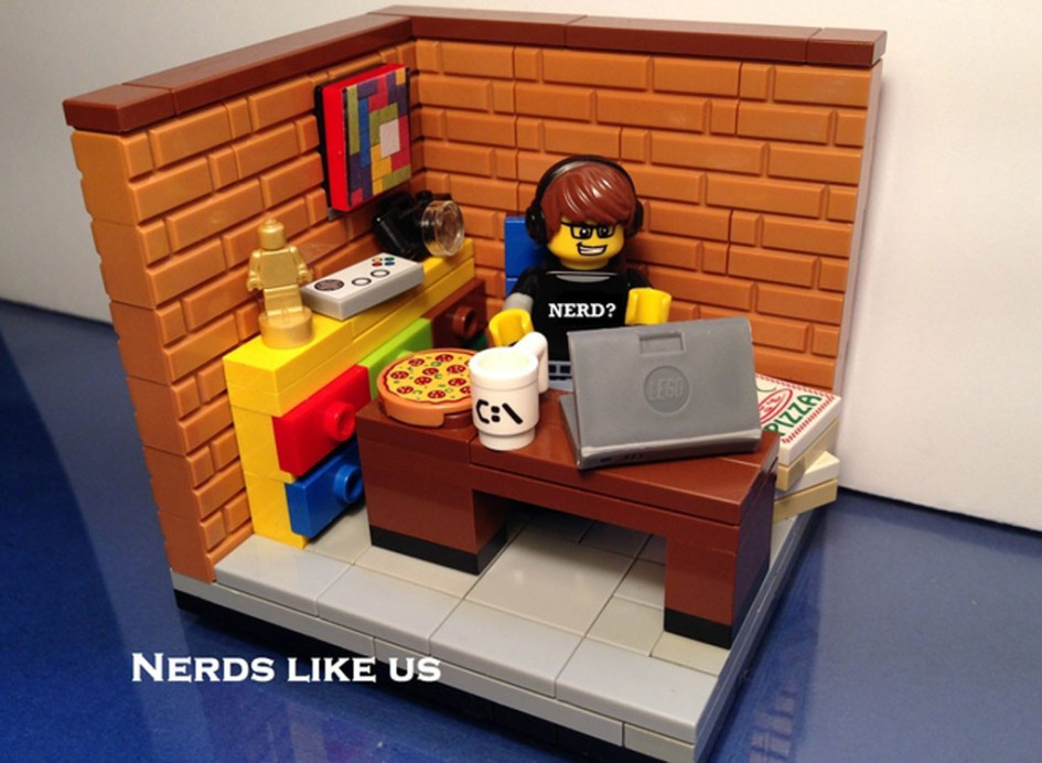 Nerd! | © LEGO Ideas / AWI2345