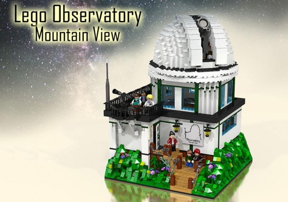 LEGO Observatory - Mountain View | © Andres Lehmann / zusammengebaut.com