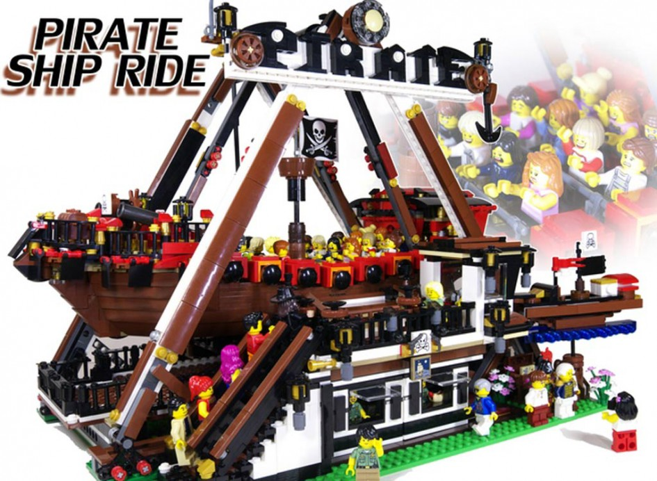 Piraten-Schiffschaukel | © LEGO Ideas / Project_GBK