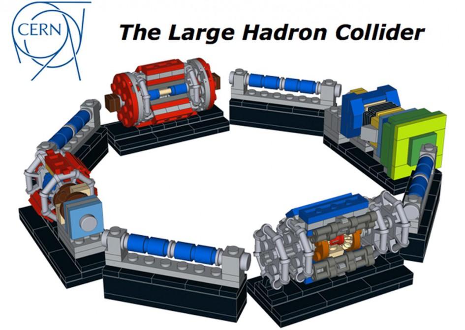 "LEGO Ideas: ""The Large Hadron Collider"" | © NathanR2015 / LEGO Ideas"