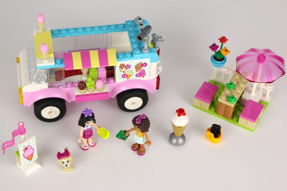 LEGO Juniors Friends Emmas Eiswagen (10727) | © Andres Lehmann / zusammengebaut.com