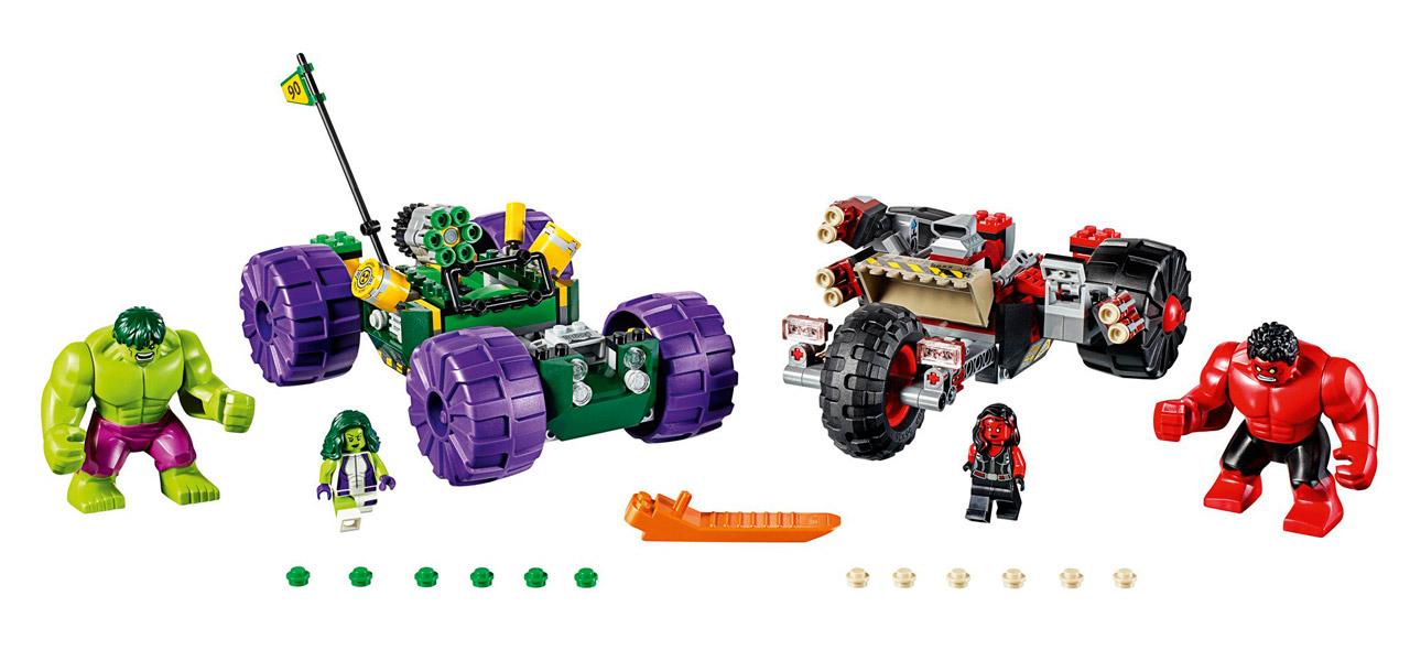 LEGO Marvel Super Heroes Hulk vs. Red Hulk | © LEGO Group