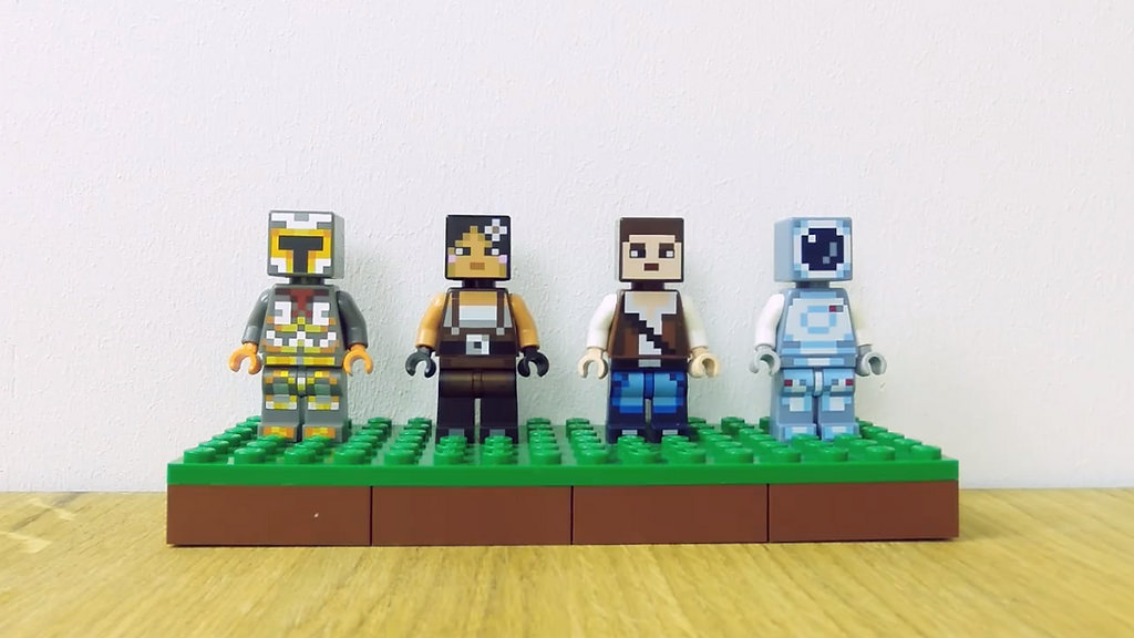 Minecraft Sammelfiguren | © LEGO Group