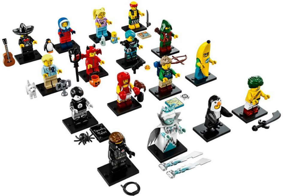 16. Sammelserie mit... 16 Minifiguren! | © LEGO Group