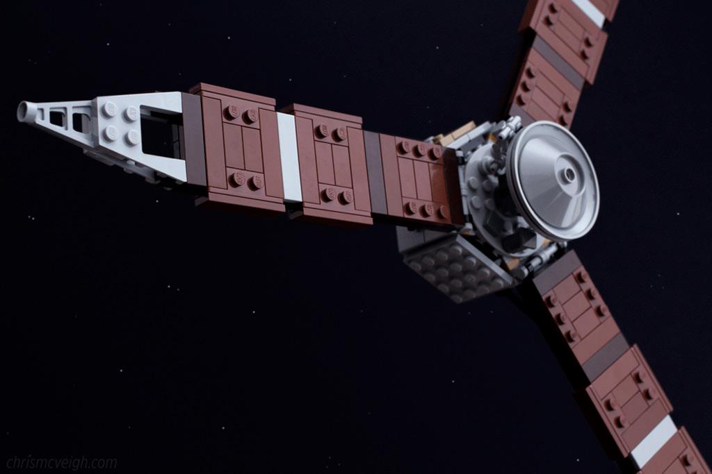 NASA Sonde Juno aus Legosteinen | © Chris McVeigh