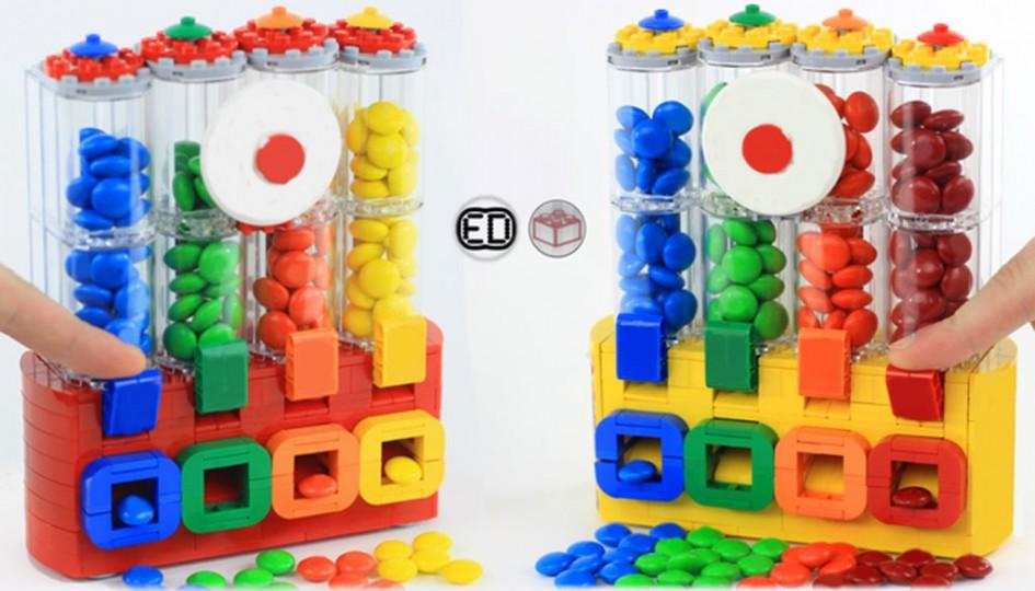 M&M's Chocolate Candy Dispenser   © LEGO Ideas / ElectryDragonite and AstonishingStudios