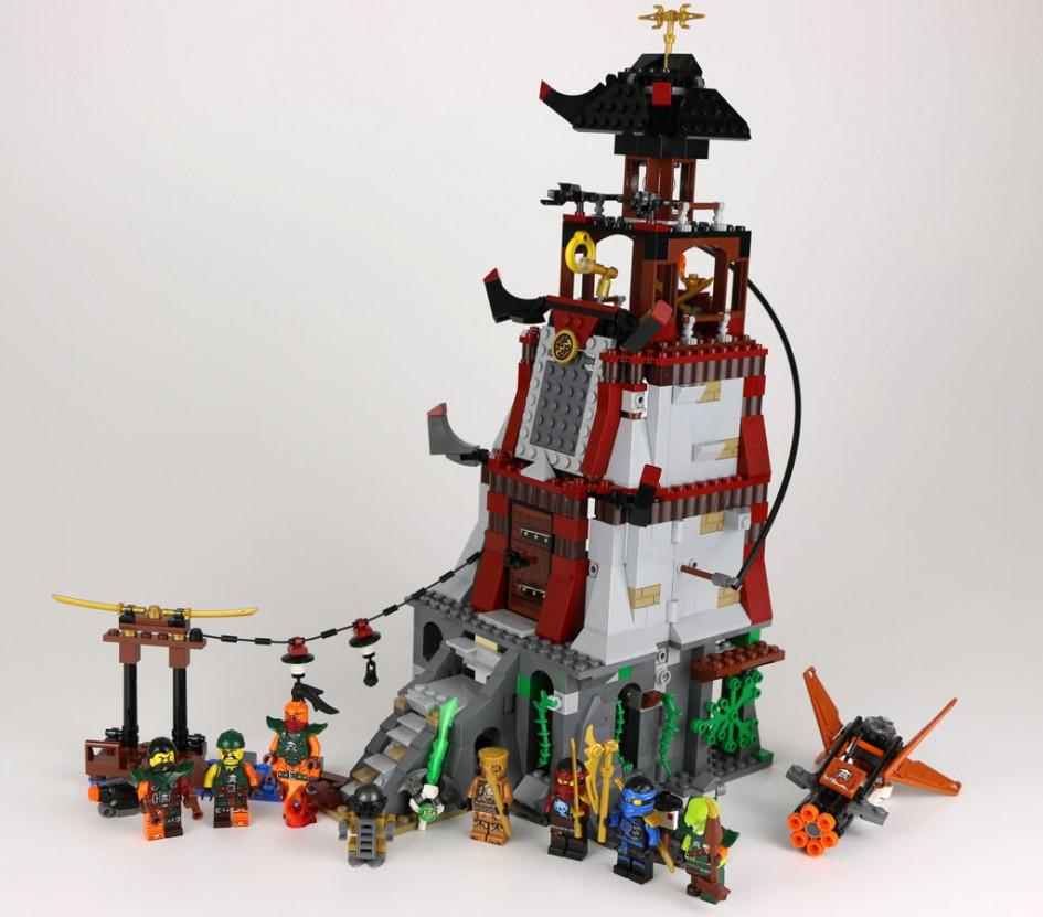 Lego Ninjago Die Leuchtturmbelagerung 70594 Im Review