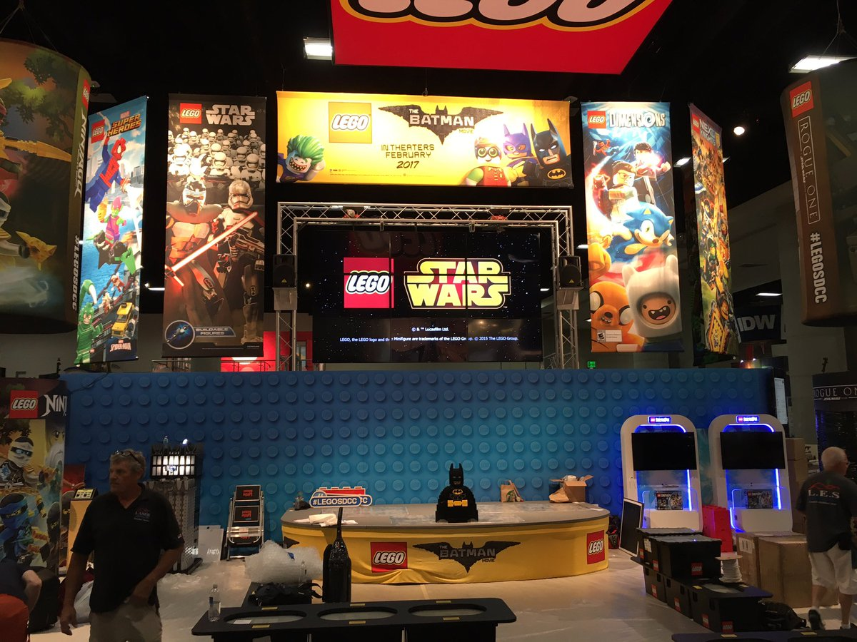 LEGO-Stand auf der SDCC | © Christopher Butcher / comicsalliance.com
